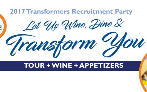 Let Us Wine, Dine & Transform You!