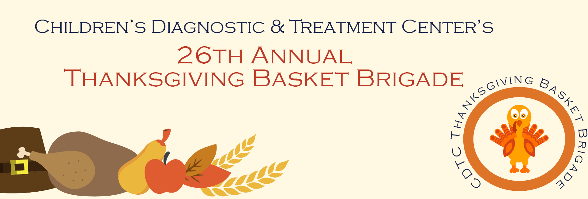 Thanksgiving Basket Brigade Nov 18th Children S Diagnostic Treatment Center