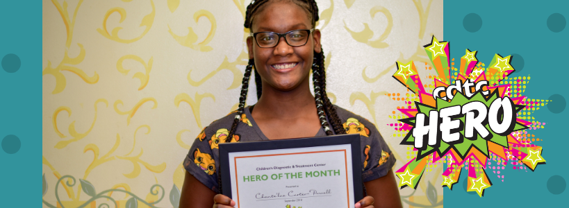 Chante'lae is a TAFT Hero
